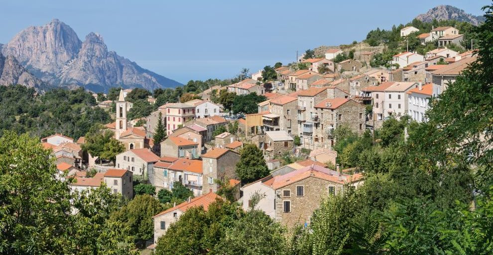 Feliceto Balagne Corsica Frankrijk