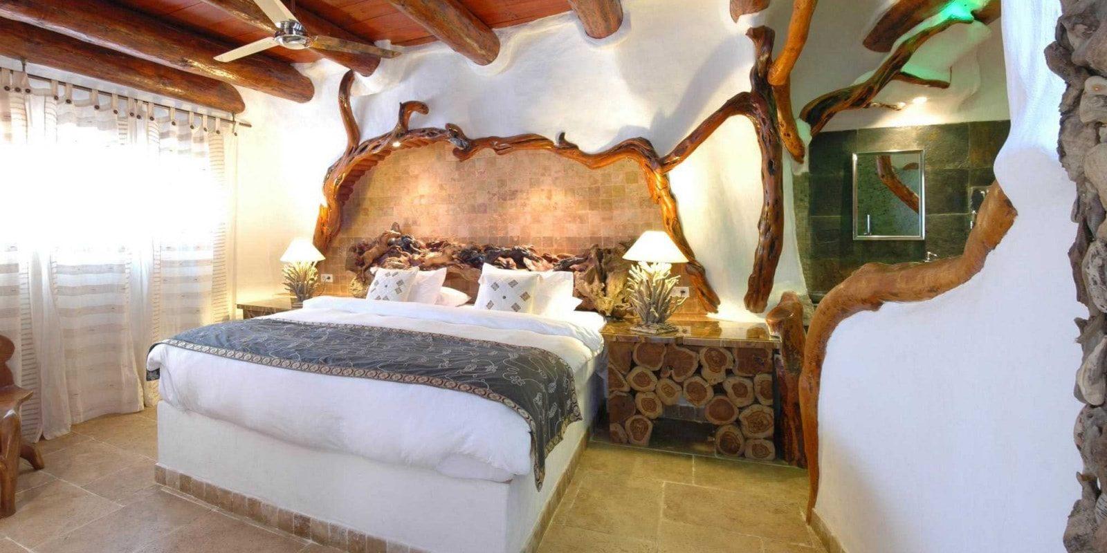 Ferme Auberge Domaine de Piscia Figari Corsica Frankrijk kamer Les Grottes