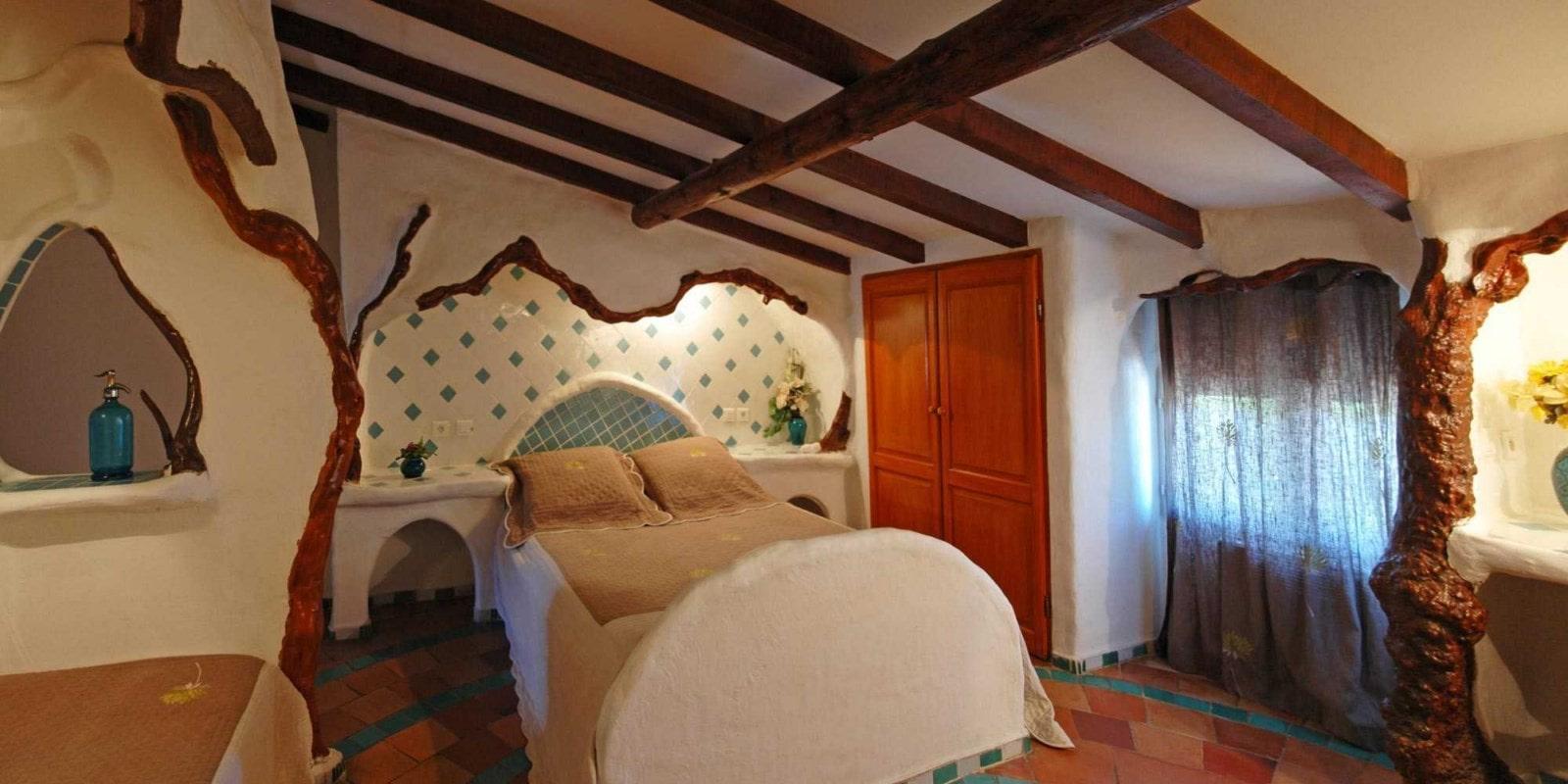 Ferme Auberge Domaine de Piscia Figari Corsica Frankrijk kamer Les Mignones