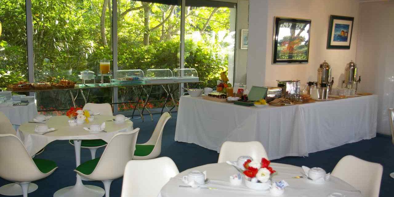 Hotel Pietracap Bastia Corsica Frankrijk ontbijtzaal