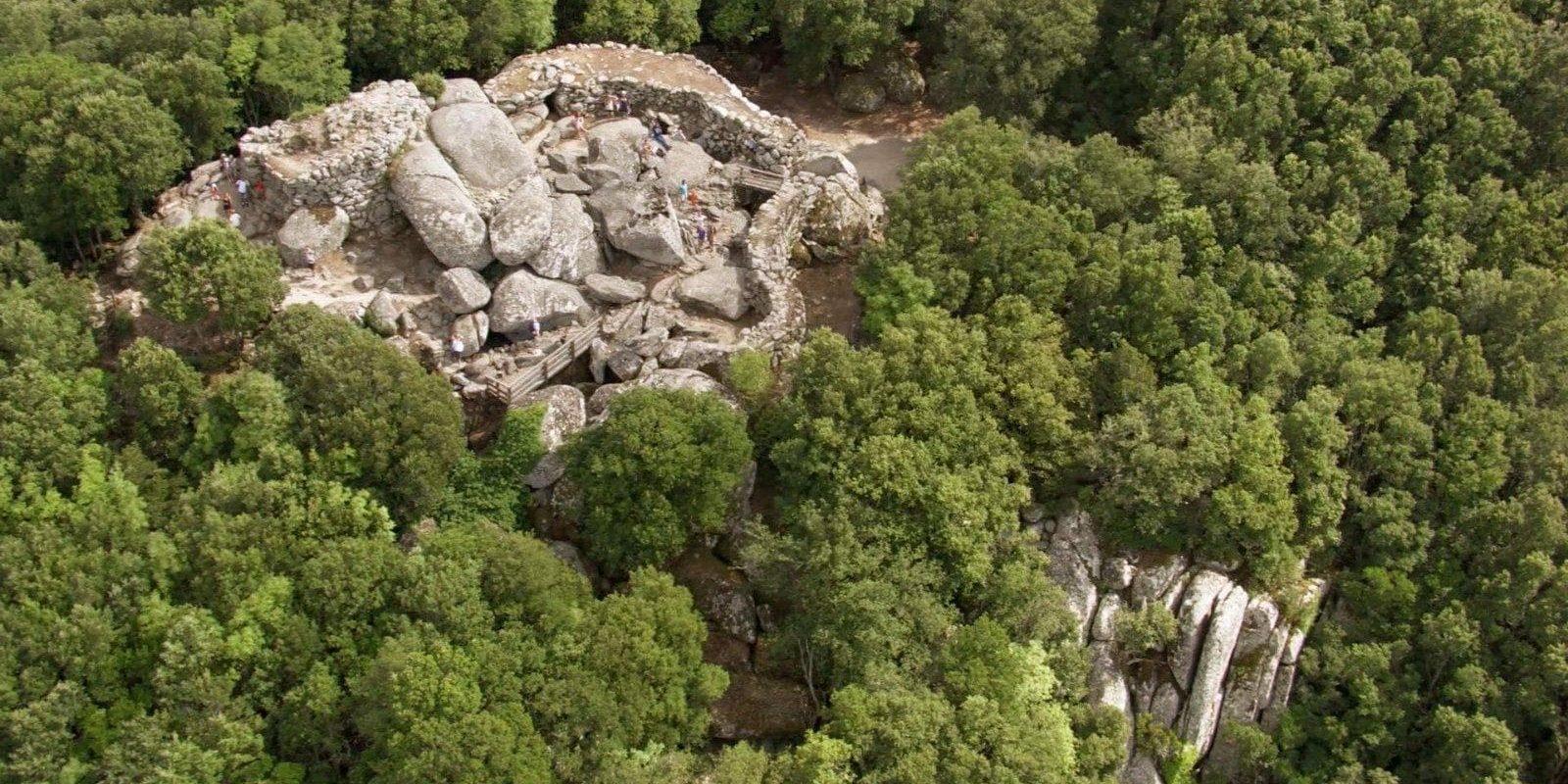 Alta Rocca Corsica Frankrijk regio-achterland-Sartene Sartène