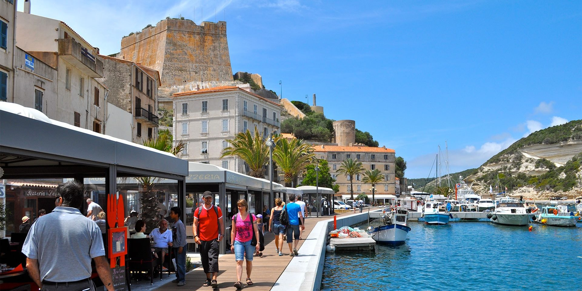 Best Western Hotel du Roy d'Aragon Bonifacio Corsica Frankrijk haven promenade citadel