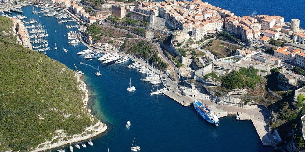 Best Western Hotel du Roy d'Aragon Bonifacio Corsica Frankrijk luchtfoto