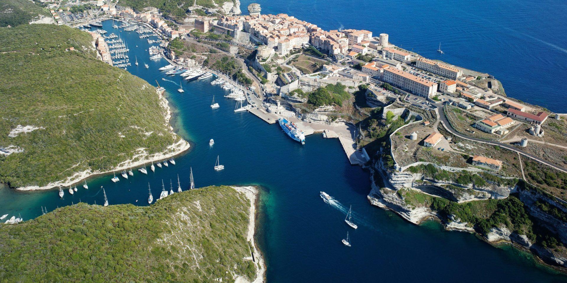 Bonifacio Corsica Frankrijk Straat van Bonifacio