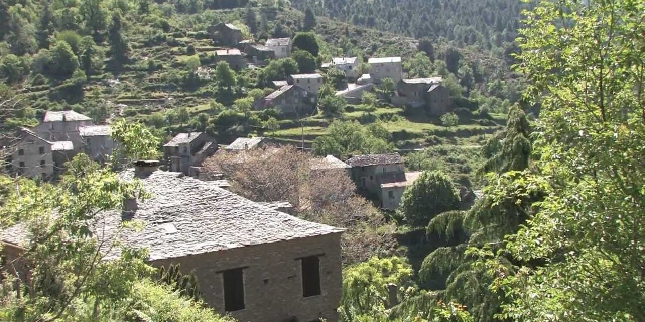 Castagniccia Corsica Frankrijk kastanjebossen kastanjes