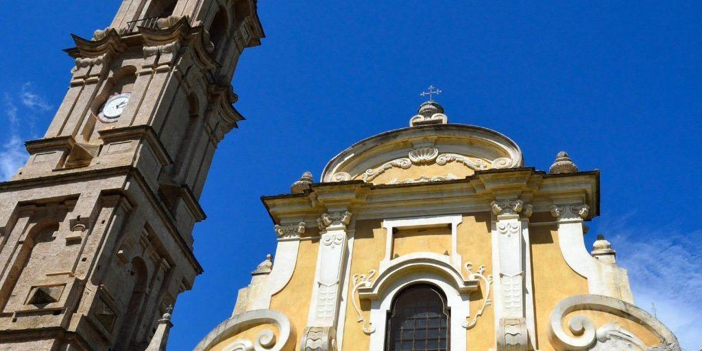 Castagniccia La Porta Eglise Saint Jean Bapiste Corsica Frankrijk kerk barok