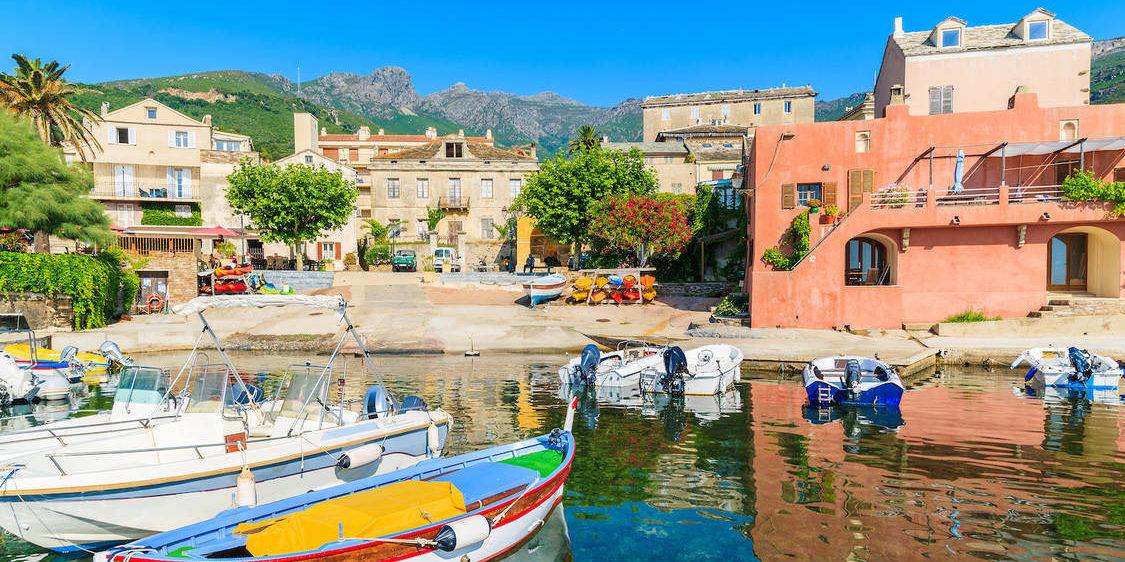 Erbalunga Cap Corse Corsica Frankrijk
