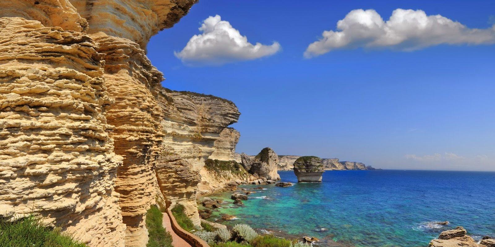 Bonifacio Corsica Frankrijk Grain de Sable zandkorrel