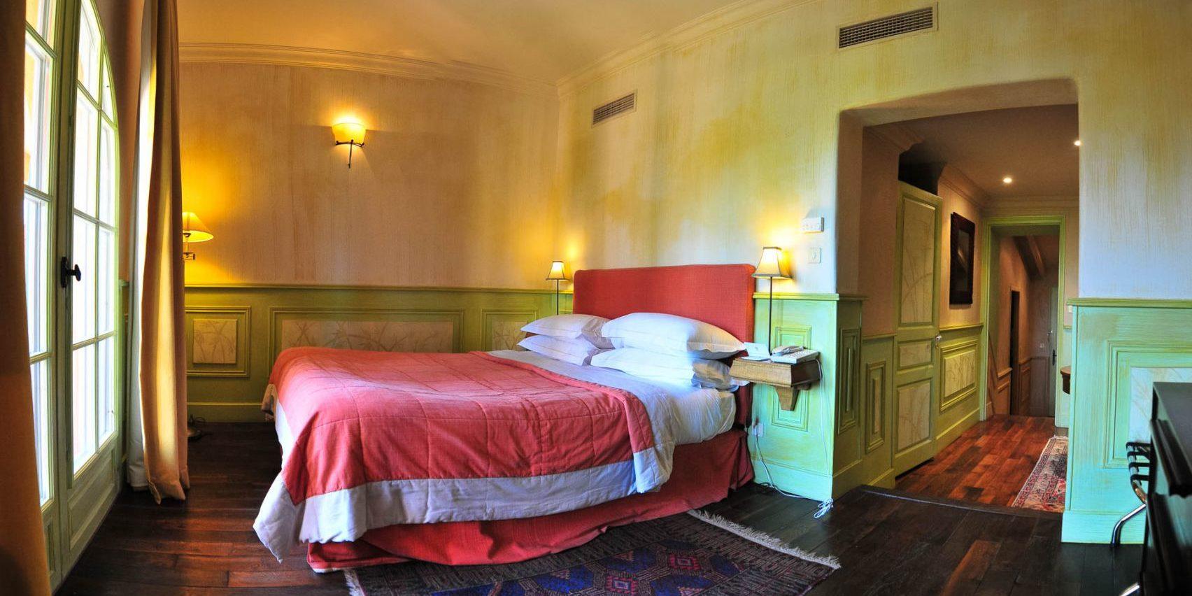 Hotel La Signoria Calvi Balagne Corsica Frankrijk kamer Demeure
