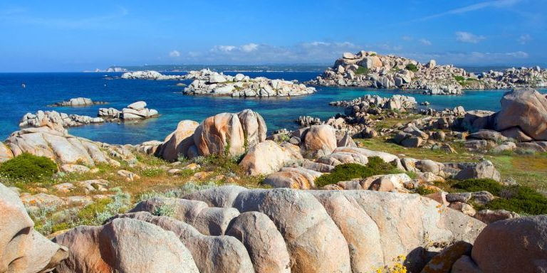Les Iles Lavezzi Bonifacio Corsica Frankrijk excursie rotsen zee grillig