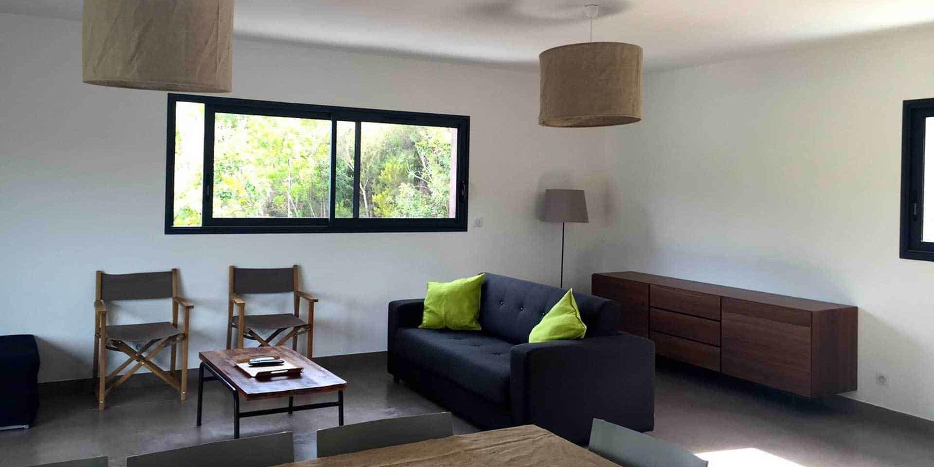 Les Villas de Lorello Porticcio Corsica Frankrijk interieur appartement Eucalyptus