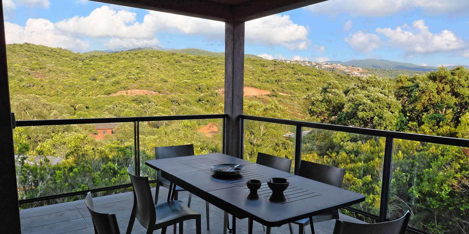 Les Villas de Lorello Porticcio Corsica Frankrijk villa Les Arbousiers terras maquis