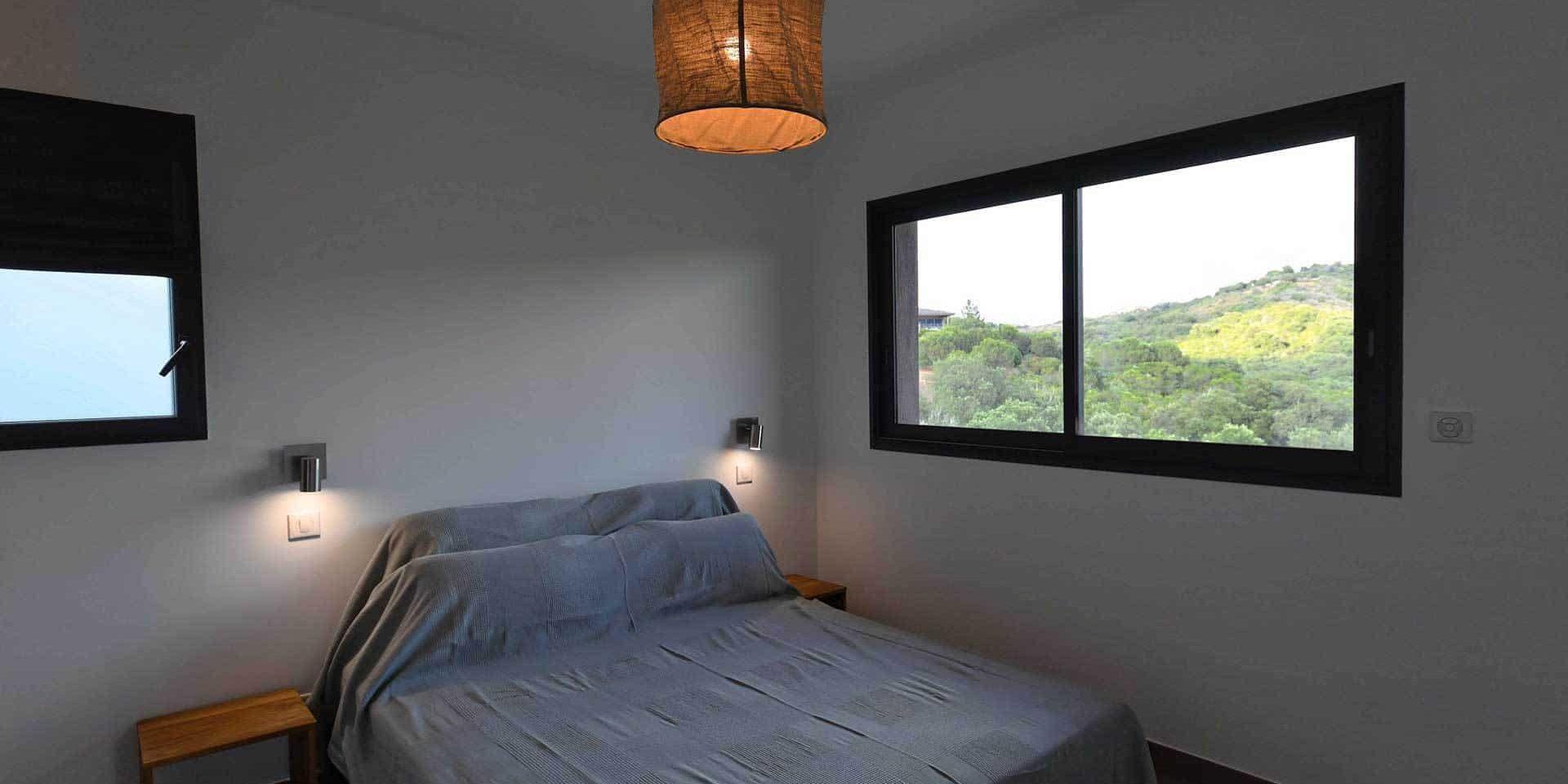 Les Villas de Lorello Porticcio Corsica Frankrijk villa Les Arbousiers slaapkamer