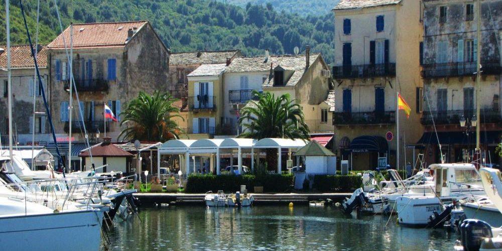 Macinaggio Cap Corse Corsica Frankrijk haven detail