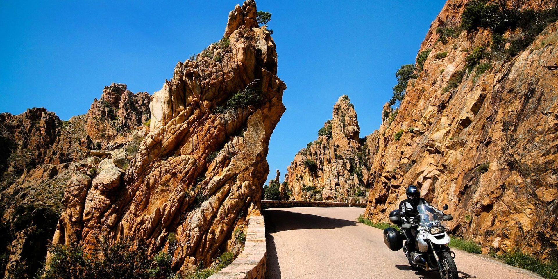 Calanques de Piana Corsica Frankrijk road trip motor rondreis motorrijder roadtrip