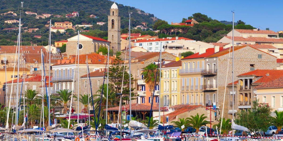 Propriano Corsica Frankrijk haven plezierjachten