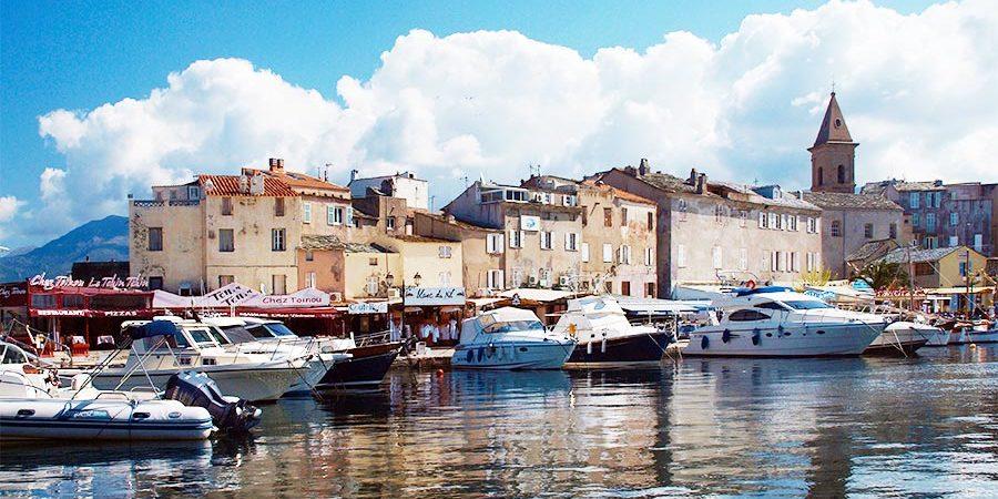 Saint Florent Corse Corsica Frankrijk jachthaven