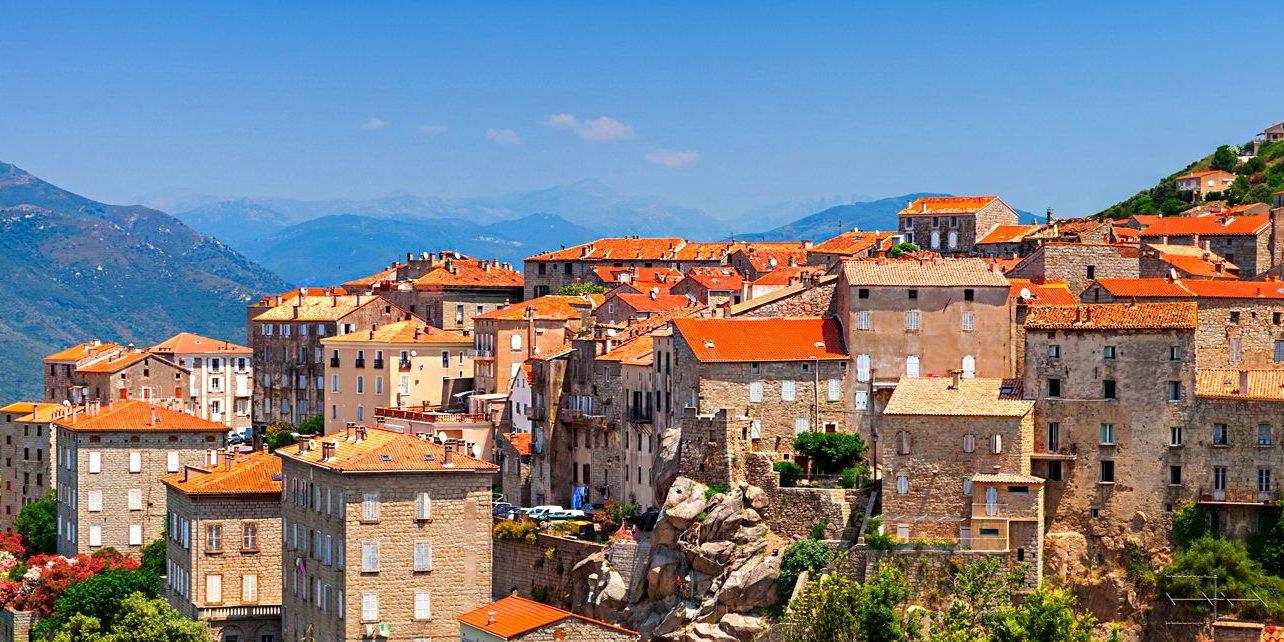 Sartene Sartène Corsica Frankrijk stad meest Corsicaanse stad Prosper Merimee dichter