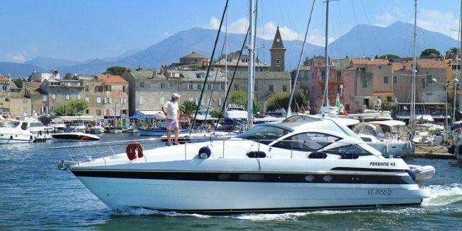 Saint Florent St. Florent Corsica Frankrijk haven jacht