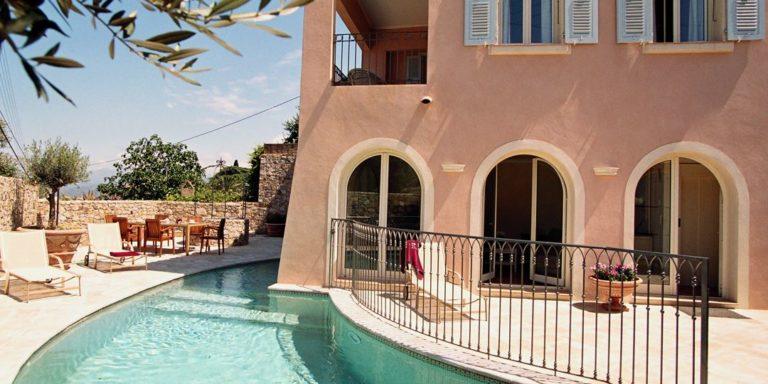 Villa Casa Santa Maria Santa-Reparata-di-Balagna Balagne Corsica Frankrijk zwembad terras