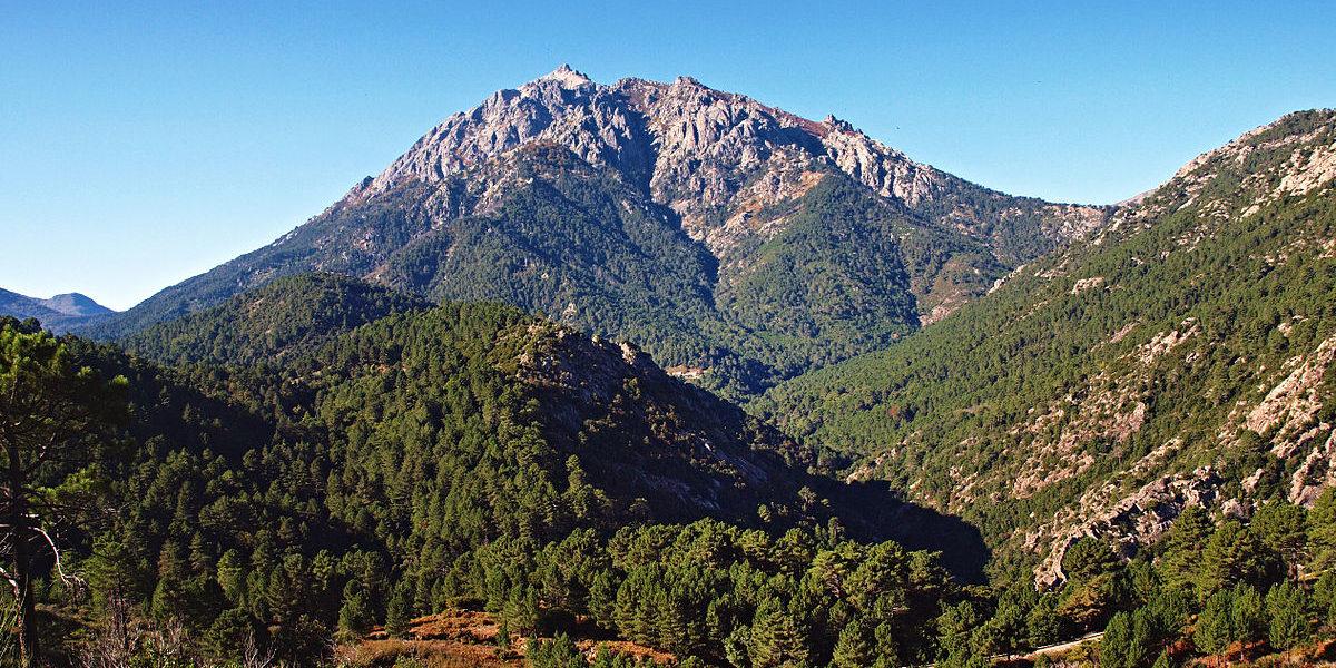 Vivario Vizzavona Monte d'Oro Corsica Frankrijk berg