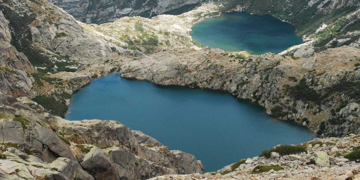 Vizzavona Vivario Corsica Frankrijk Lac de Capitellu en Lac de Melu bergmeren Restonica