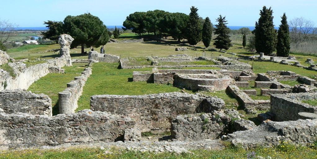 Aleria Corsica Frankrijk opgravingen Romeinen autovakantie rondreis road trip Oost-Corsica