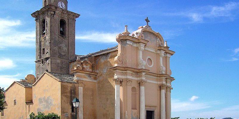 Chambres d'hotes A Casa di Babbo Tomino Cap Corse Corsica Frankrijk kerk Eglise-San-Nicolao