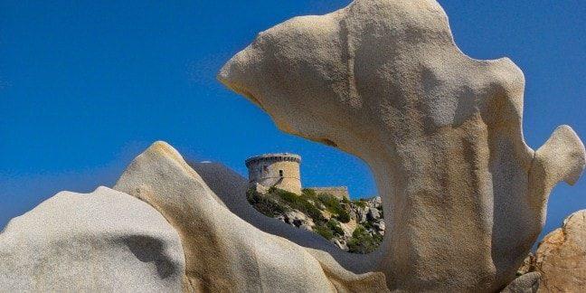 Belvedere-Campomoro Corsica Frankrijk Tour-de-Campomoro