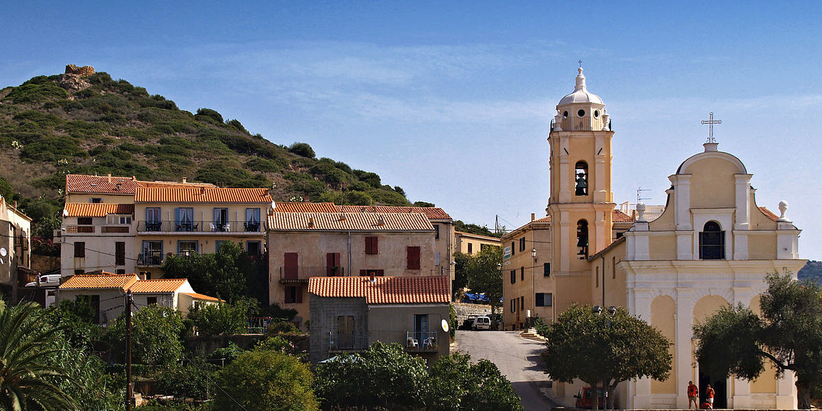 Chambres d'hotes U Cuventu di Paomia Cargese Corsica Frankrijk Cargese kerken