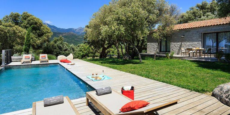 Domaine Santu Pietru Villa Serentina Figari Corsica Frankrijk Plage de Santa Giulia