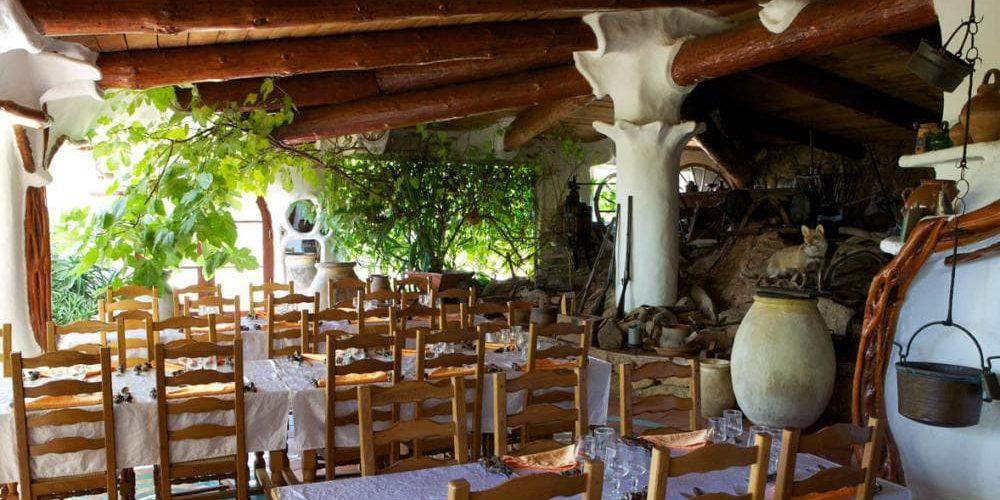 Domaine de Piscia Corsica Frankrijk restaurant terras