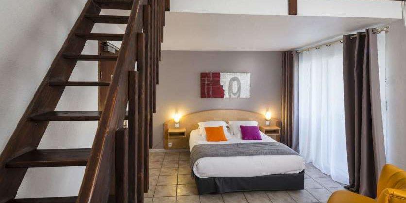 Hotel La Lagune Lido de la Marana Lucciana Corsica Frankrijk familiekamer
