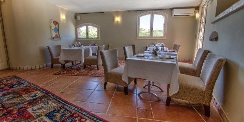 Hotel Le Roc E Fiori Porto-Vecchio Bocca del'Oro Corsica Frankrijk restaurant Les Collectionneurs