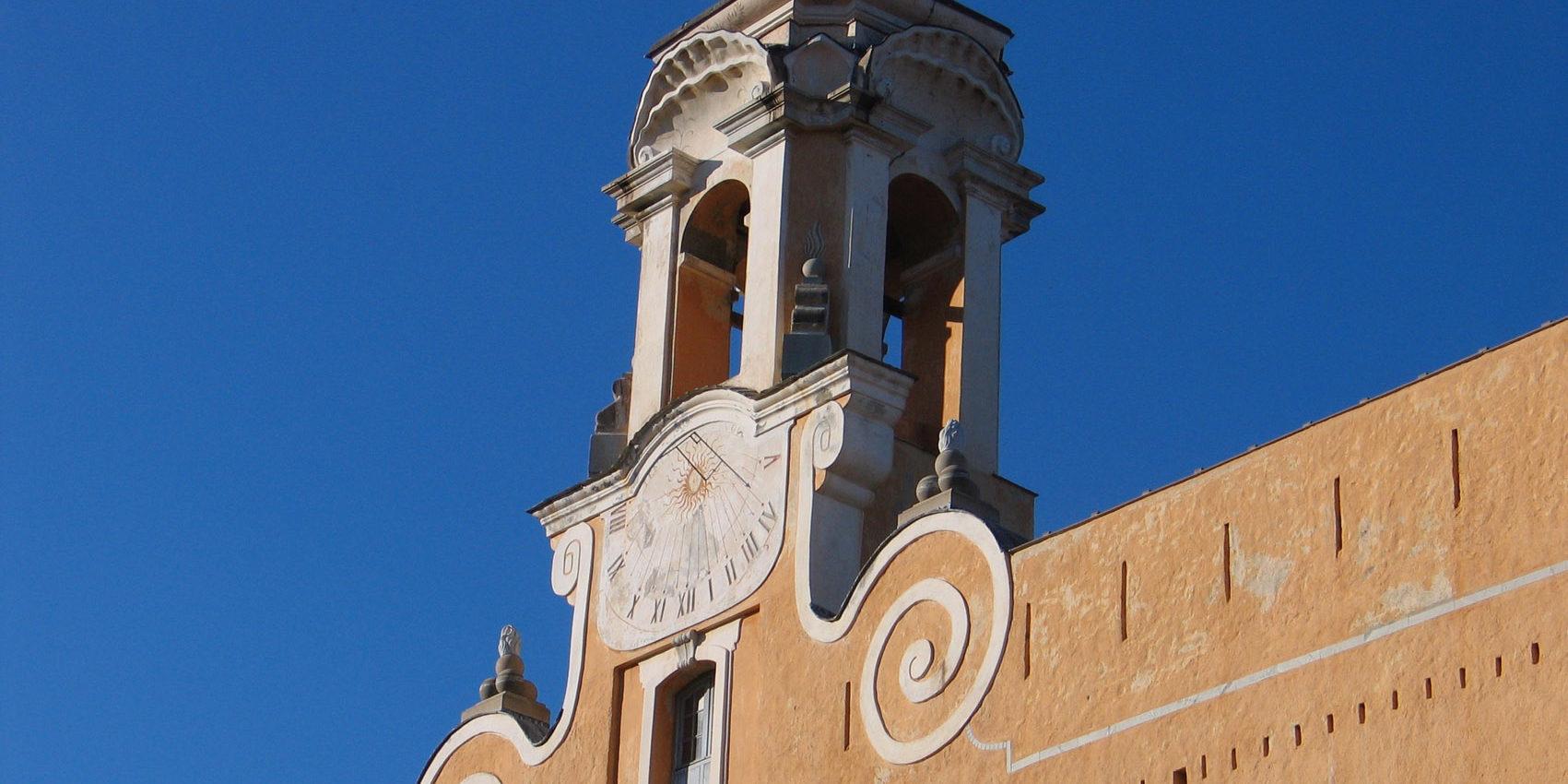 Hotel des Gouverneurs Bastia Corsica Frankrijk Palais-des-Gouverneurs façade detail museum