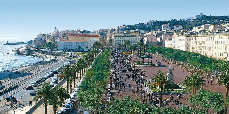 Hotel des Gouverneurs Bastia Corsica Frankrijk Place-Saint-Nicolas plein