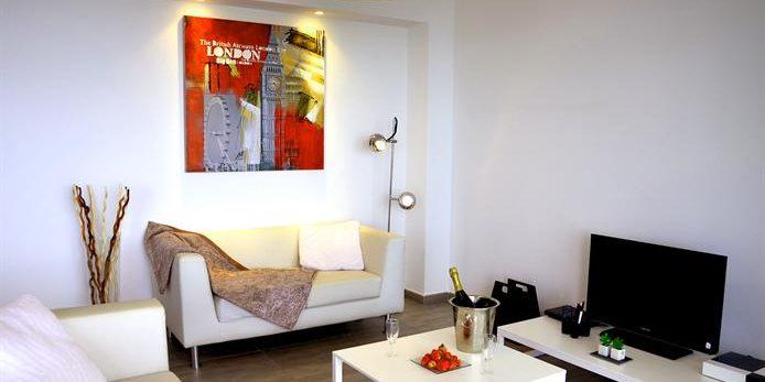 Residence Dary Ile Rousse Balagne Corsica Frankrijk appartement zithoek modern luxe