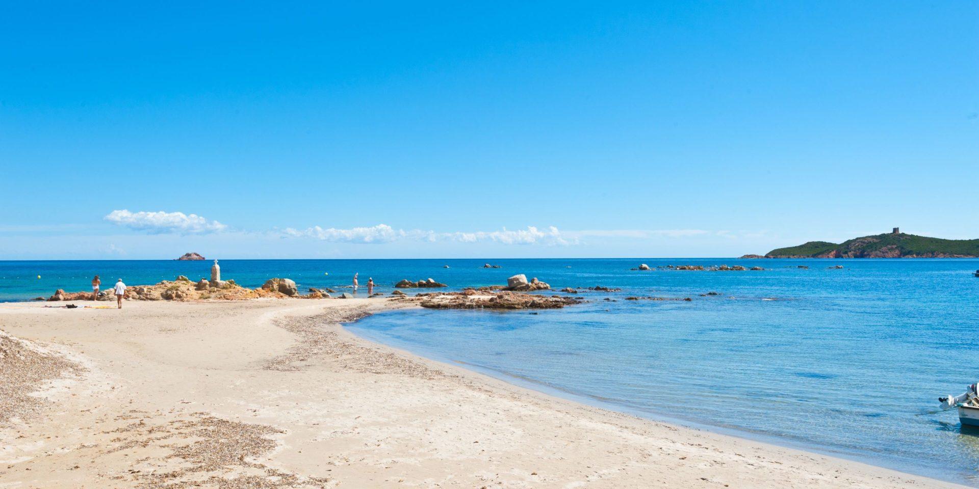 Residence U Paesolu Pinarello Sainte-Lucie-de-Porto-Vecchio Porto-Vecchio Corsica Frankrijk Plage-de-Pinarello strand zee