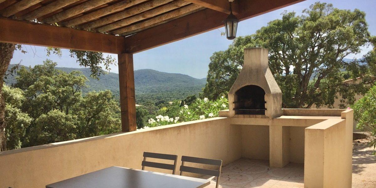 Residence U Paesolu Pinarello Sainte-Lucie-de-Porto-Vecchio Porto-Vecchio Corsica Frankrijk minivilla terras