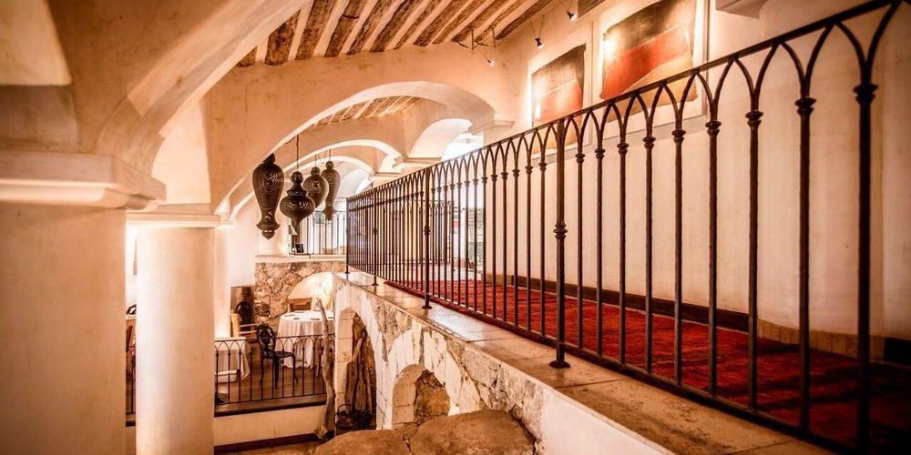 Hotel U Capu Biancu Bonifacio Corsica Frankrijk galerij restaurant