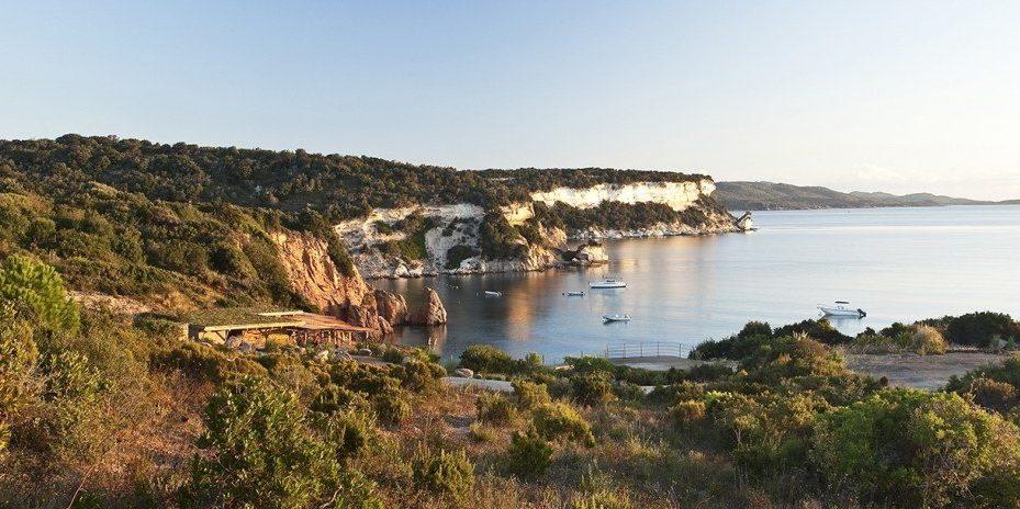 Hotel U Capu Biancu Bonifacio Corsica Frankrijk ligging maquis zee
