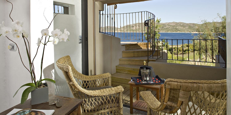 Hotel U Capu Biancu Bonifacio Corsica Frankrijk suite Laetitia