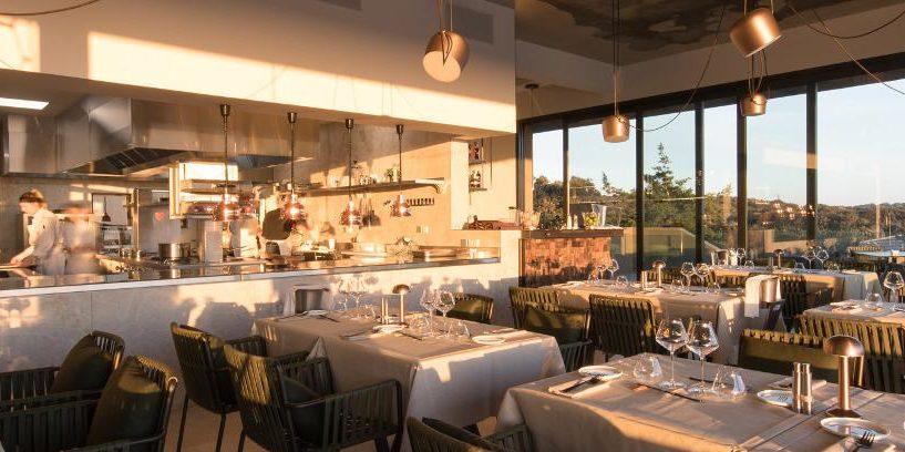 Hotel Version Maquis Citadelle Bonifacio Corsica Frankrijk restaurant