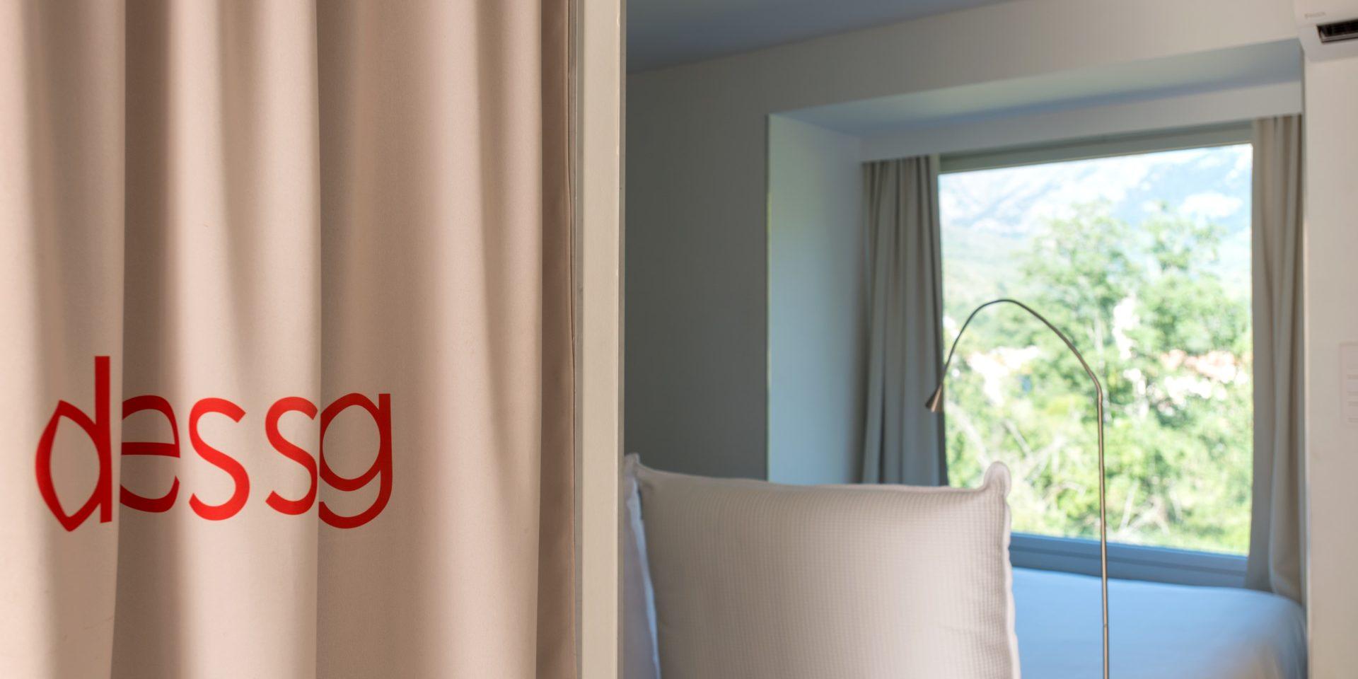 Boutique Hotel Artemisia Bastelica Corsica Frankrijk kamer uitzicht