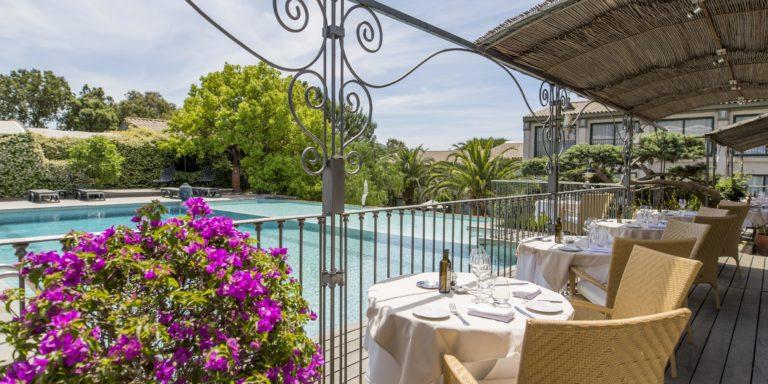 Hotel Roi Theodore & SPA Porto-Vecchio Corsica Frankrijk terras zwembad