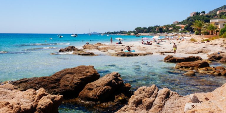 Discover gulf of Ajaccio and surroundings - beach and mountain