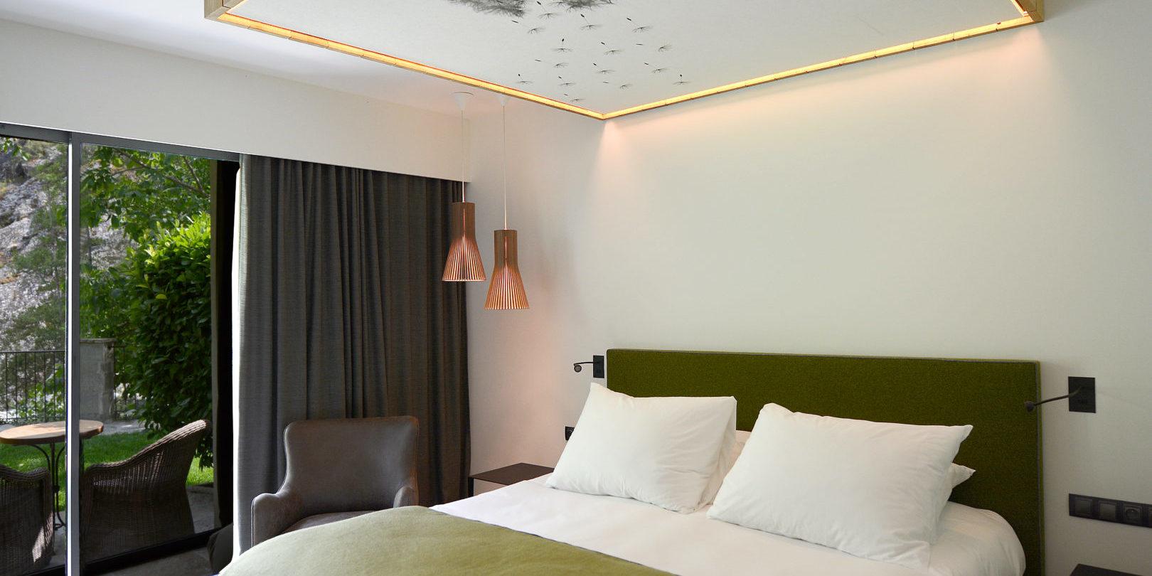 Hotel Dominique Colonna Corte Restonica binnenland Corsica Frankrijk 2-pk rivierzijde