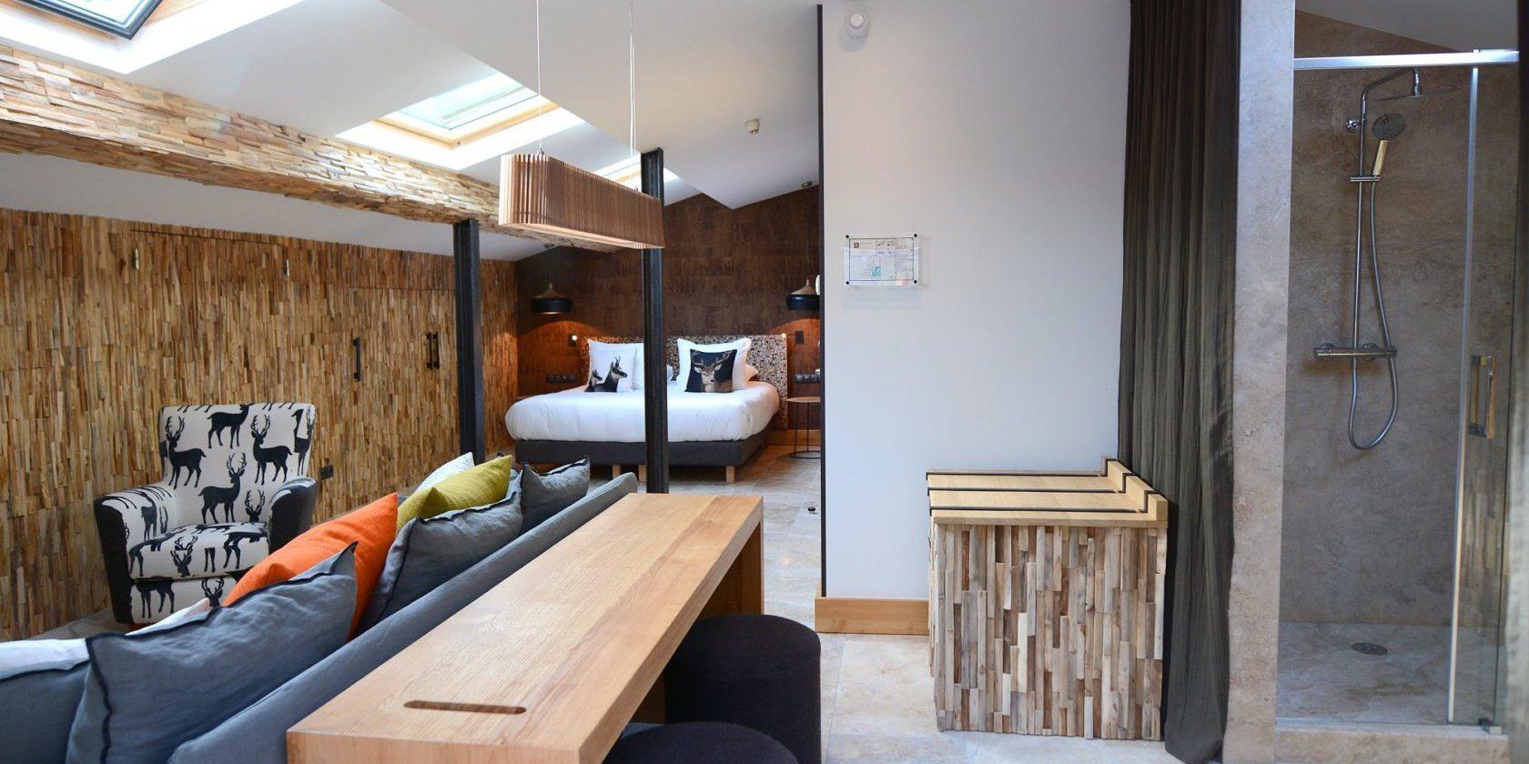 Hotel Dominique Colonna Corte Restonica binnenland Corsica Frankrijk suite Alba