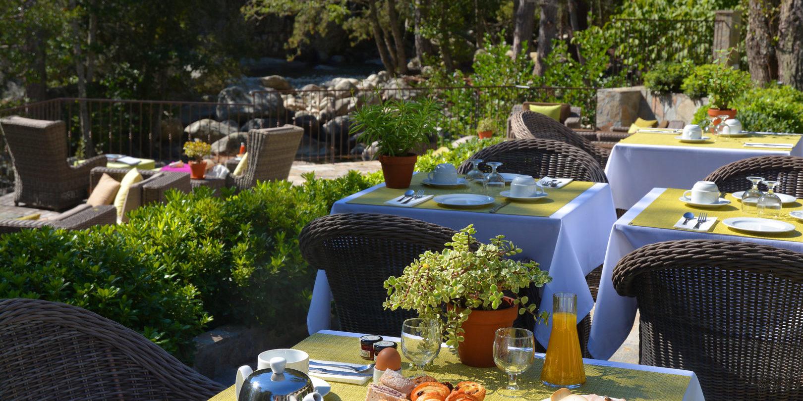 Hotel Dominique Colonna Corte Restonica binnenland Corsica Frankrijk