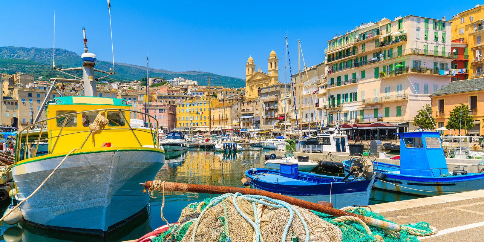 Bastia Corsica Frankrijk